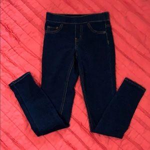 Justice pull on jean leggings *10 Slim*